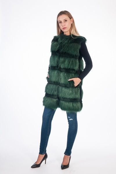 GILET HUNTER GREEN