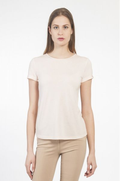 T-SHIRT M/C BASIC SOFT ROSE