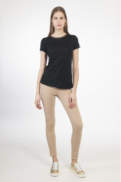 T-SHIRT M/C BASIC NERO
