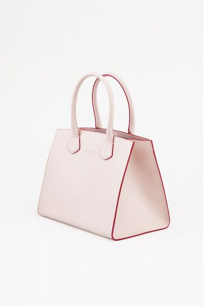 Borsa Tote in Pelle Butterfly Rose