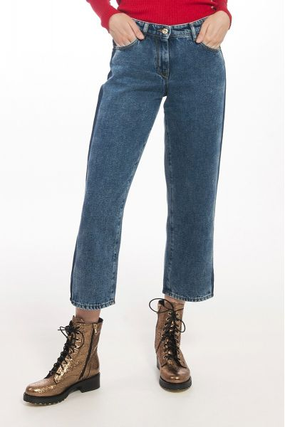 Jeans Boyfriend Vita Alta