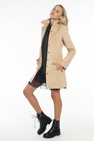 Cappotto Esenziale di Patrizia Pepe Beige