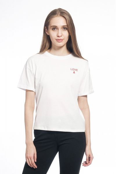 "T-Shirt Stampata ""Love"""