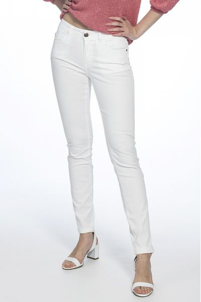 Pantalone Skinny in Raso