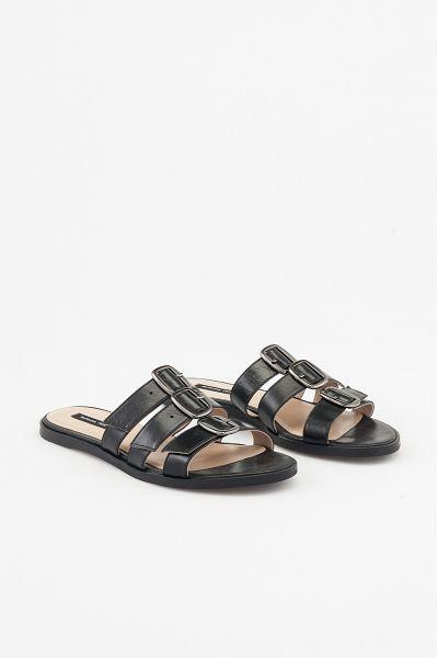Sandalo Aperto in Pelle di Patrizia Pepe