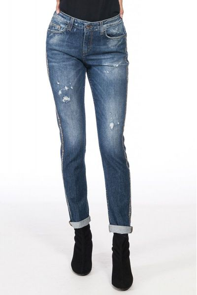 Jeans Effetto Destroyed