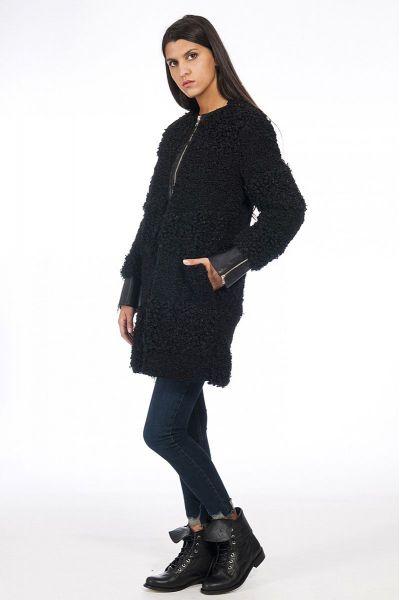 Cappotto Faux Shearling di Liu Jo