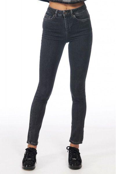 Jeans Skinny con Vita Super Alta