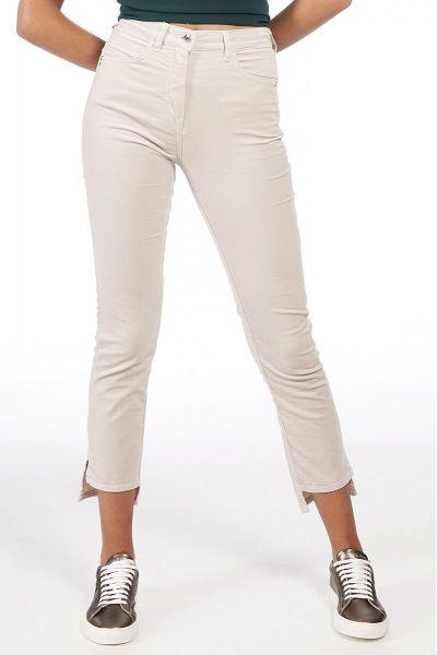 Pantalone Slim in Velluto