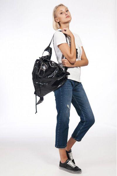 Jeans Straight a Vita Alta