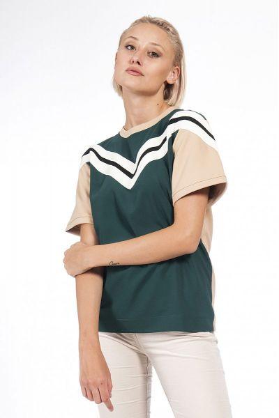 T-Shirt Block Color di Patrizia Pepe