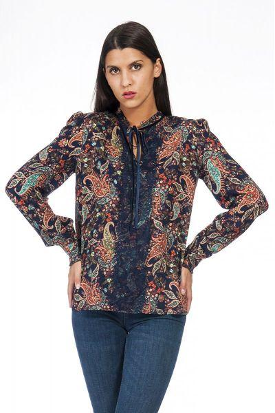 Blusa Camicia Stampa Chachemire