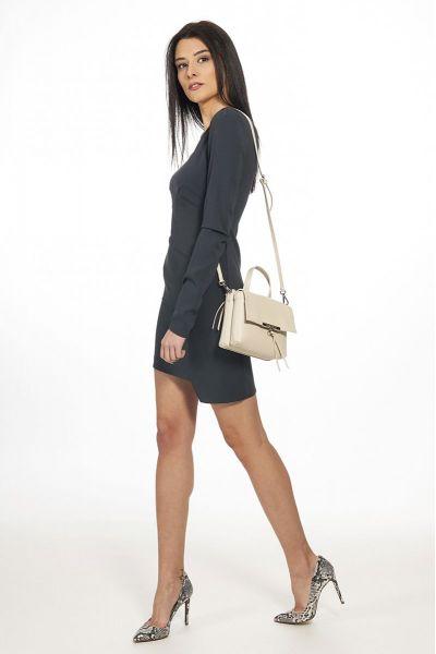 Mini Bag Flappy di Patrizia Pepe Ivory