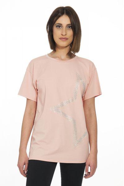 T-shirt Star di Liu Jo Rosa