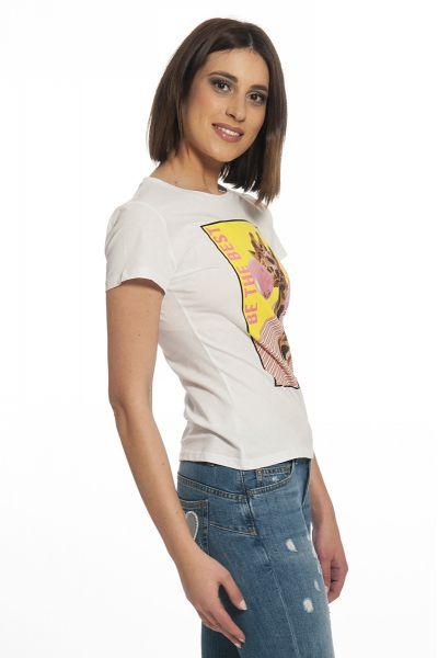T-shirt Giraffa di Liu Jo Bianca