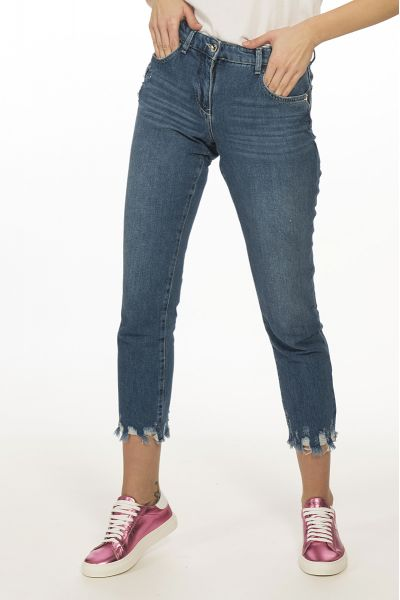 Pantalone Jeans Denim 5 Tasche di Patrizia Pepe