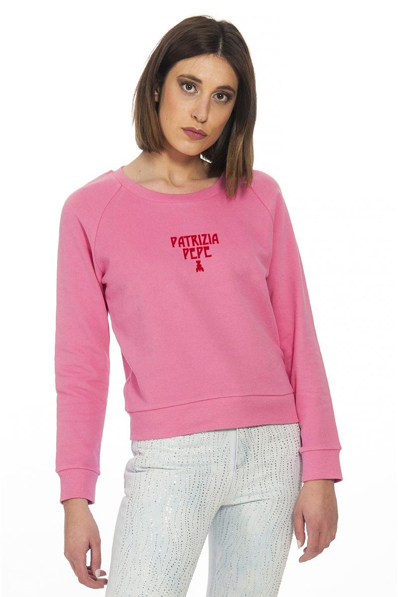 PATRIZIA PEPE felpa rosa