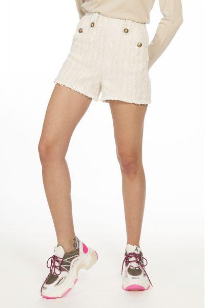 Shorts Pantaloncino con Frange di Patrizia Pepe