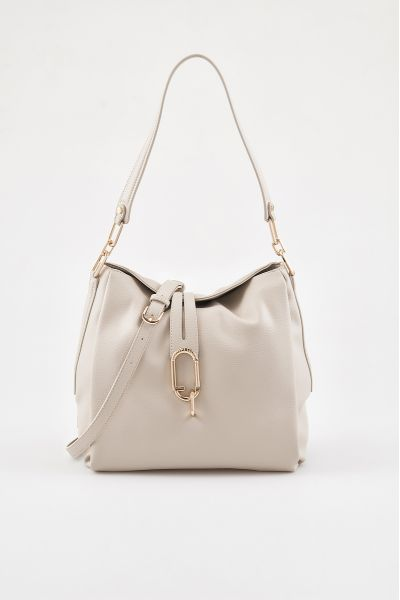 Borsa Hobo a Spalla di Liu Jo Color Coffee Milk