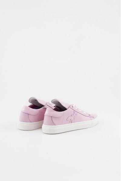 Sneakers in Pelle Maxilogo di Patrizia Pepe