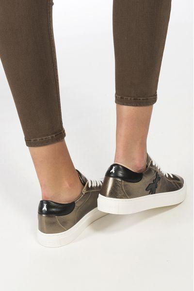 Sneaker in Pelle Laminata di Patrizia Pepe