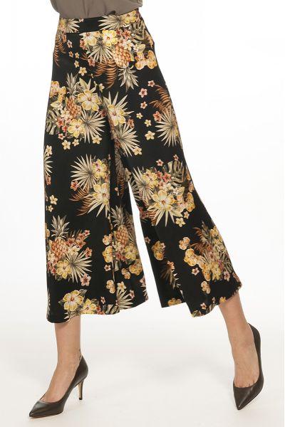 Pantalone Cropped Floreale di Liu Jo