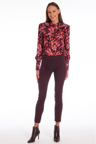 Pantalone Jeans slim fit di Patrizia Pepe Color Violet Swan