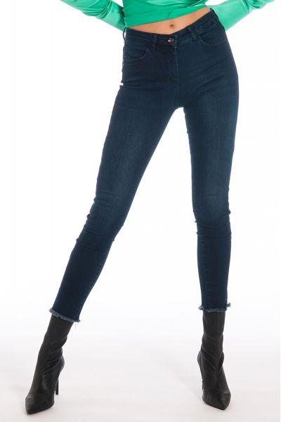Jeans Skinny Vita Alta di Patrizia Pepe Blue Denim