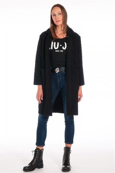 Cappotto in BouclE' di Liu Jo colore Nero