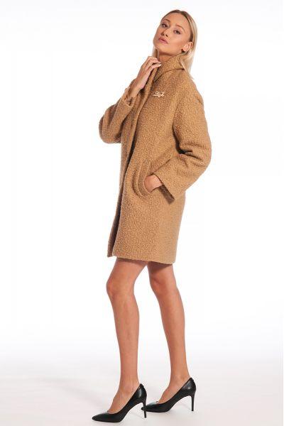 Cappotto Faux Fur di Liu Jo Colore Light Brow