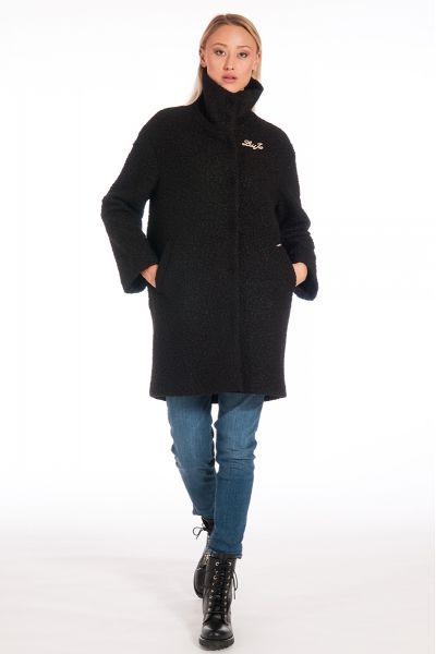 Cappotto Faux Fur di Liu Jo Colore Nero