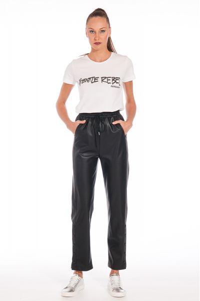 Pantalone Jogging inPelle Sintetica di Pepe