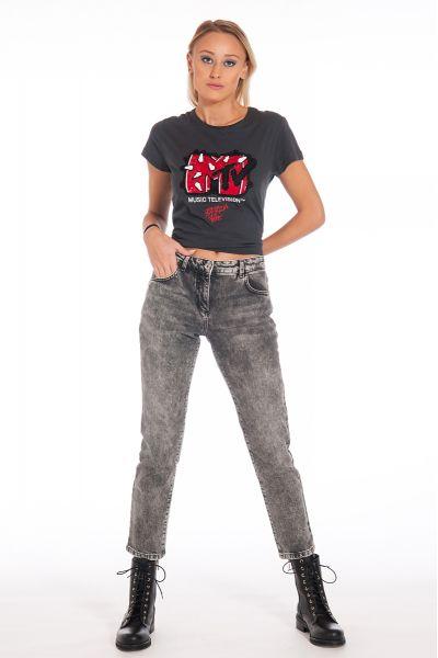 Jeans Pantalone Denim a 5 Tasche di Patrizia Pepe
