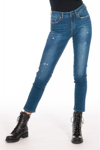 Jeans B.Up Skinny di Liu Jo con Strass