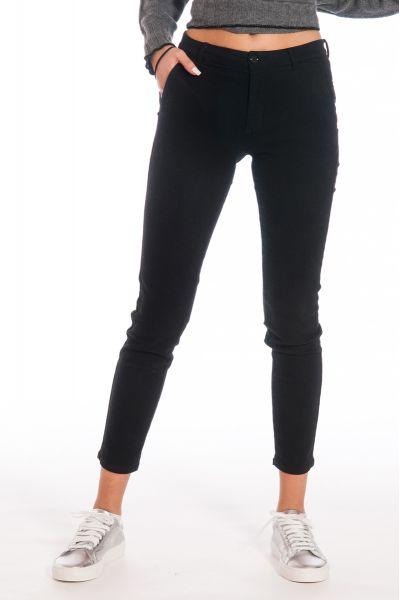 Pantalone Chino di Nenette Nero