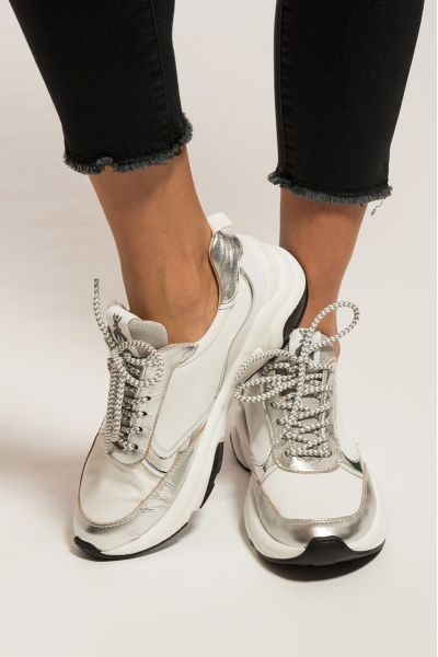 Sneakers Running di Patrizia Pepe Bianca-Argento