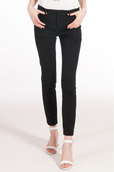 Pantalone Chino Luxury di Liu Jo Nero