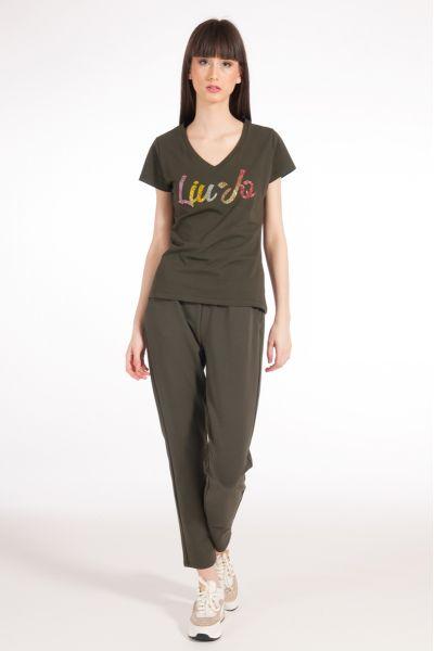 T-shirt con Logo di Liu Jo