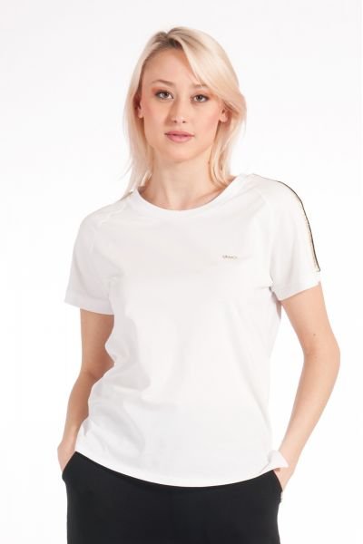 T-shirt con Applicazioni di Liu Jo