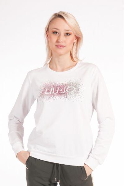Felpa con Logo di Liu Jo