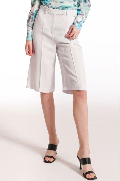 Pantalone Bermuda in Misto Lino di Patrizia Pepe
