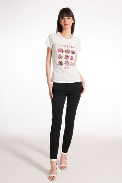 T-shirt con Stampa Love di Liu Jo