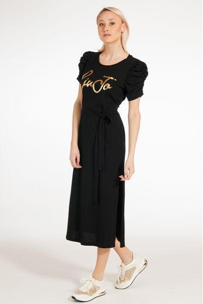Vestito Lungo con Cintura di Liu Jo