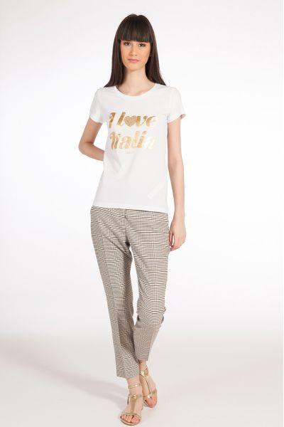 Tshirt con Stampa di Liu Jo
