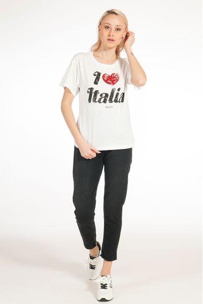 "T-shirt ""I Love Italia"" di Liu Jo"