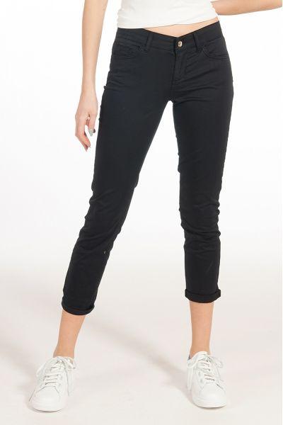 Pantalone Monroe Bottom Up Slim Fit di Liu Jo