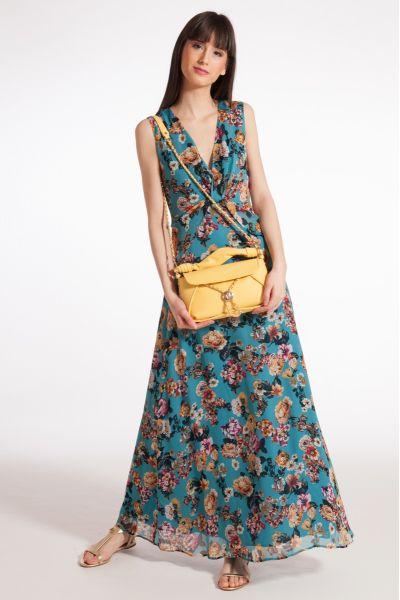 Vestito Lungo con Stampa di Liu Jo