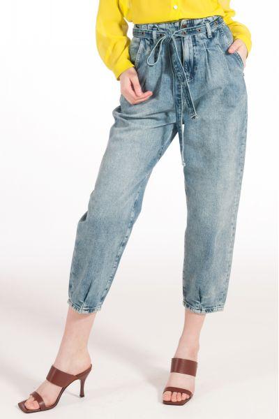 Pantalone Denim con Cintura di Patrizia Pepe