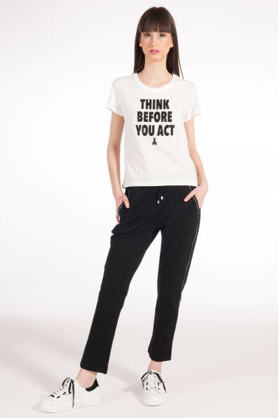 T-shirt con slogan di Patrizia Pepe