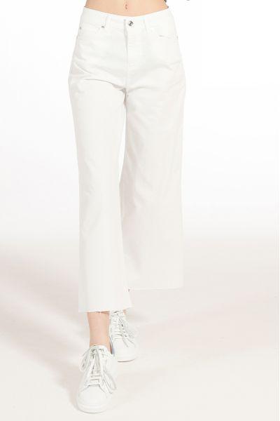 Pantalone Cropped Gamba Larga di Liu Jo